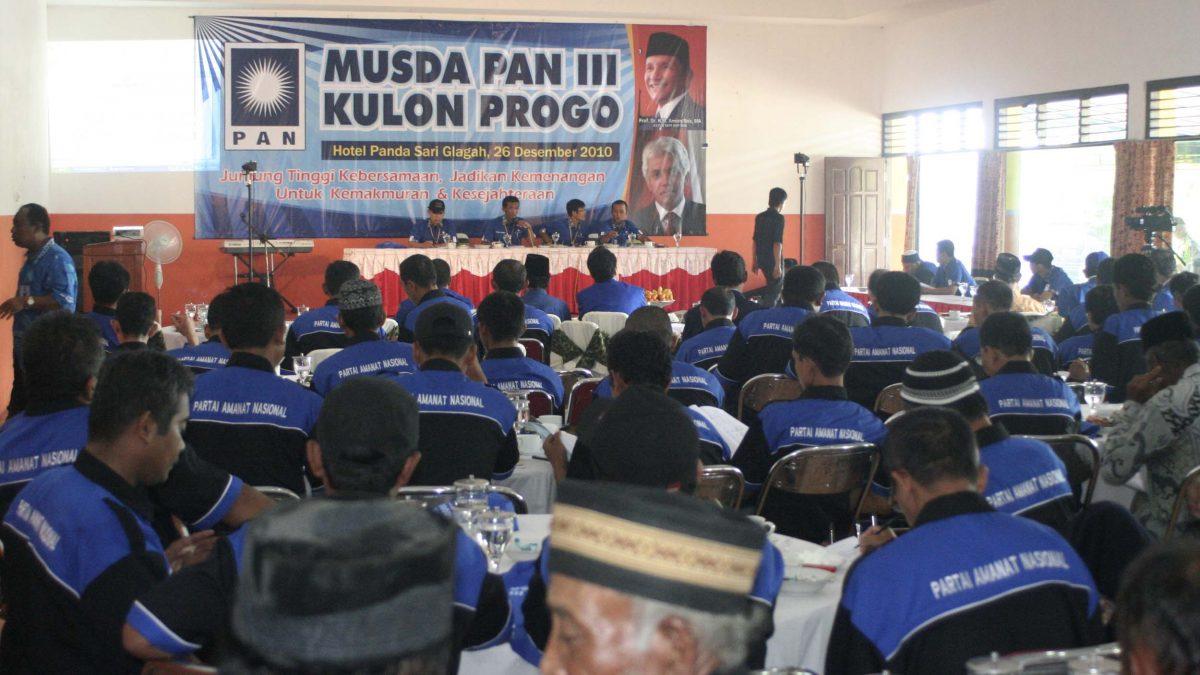 Akhir November, PAN Kulonprogo Gelar Musda