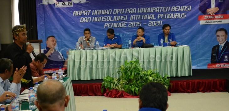 Kepengurusan Baru, PAN Kabupaten Bekasi Gelar Konsolidasi Internal