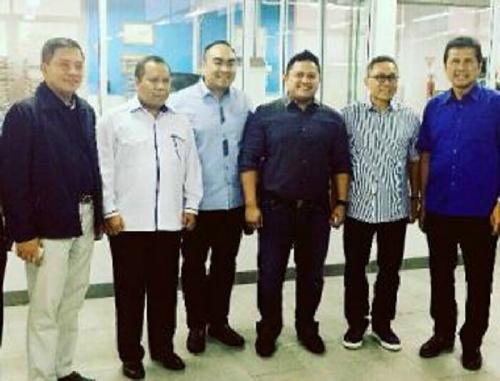 Hadiri Muswil PAN Kepri, Irvan Herman Dampingi Zulkifli Hasan dan Irwan Nasir ke Batam
