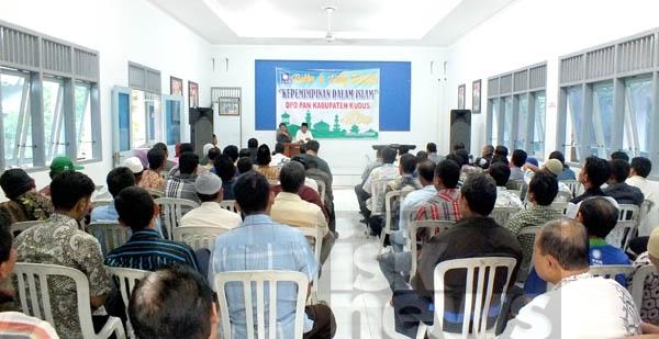 Gelar Rapat Koordinasi Pertama, Budiyono Kumpulkan seluruh Kader Strukturalnya Di Rumah PAN Kudus
