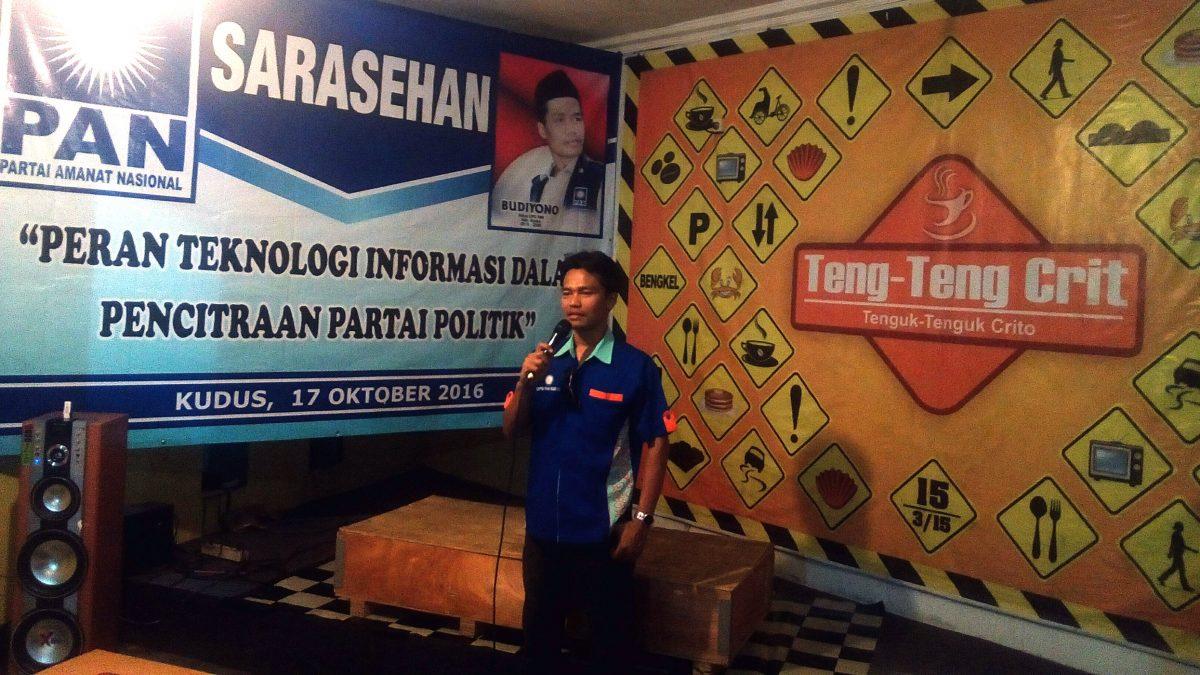 PAN Kudus Gelar Sarasehan Peran Teknologi Informasi Bagi Pencitraan Partai