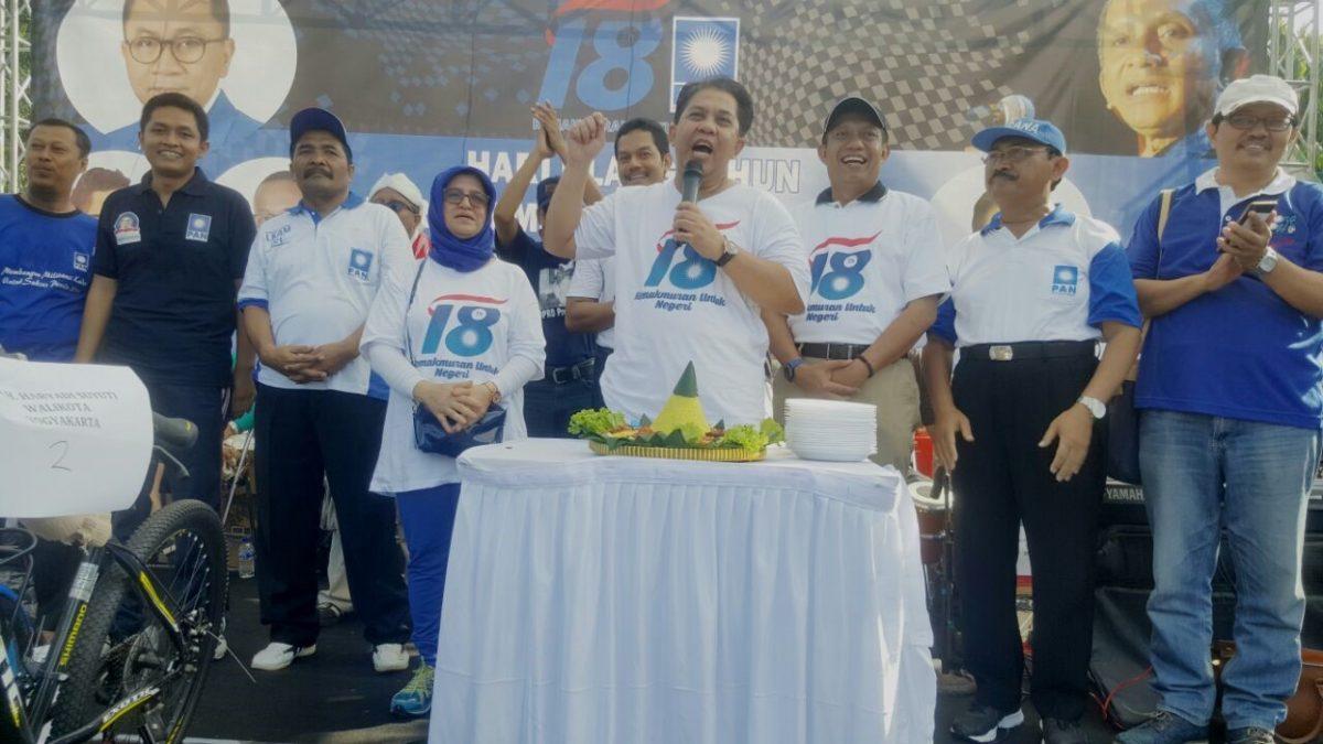Peringatan HUT PartaiAmanat Nasional yang Ke-18 di Provinsi Daerah Istimewa Yogyakarta: Kegembiraan dan Optimisme dalam Kerja Mewujudkan Kemakmuran Untuk Negeri