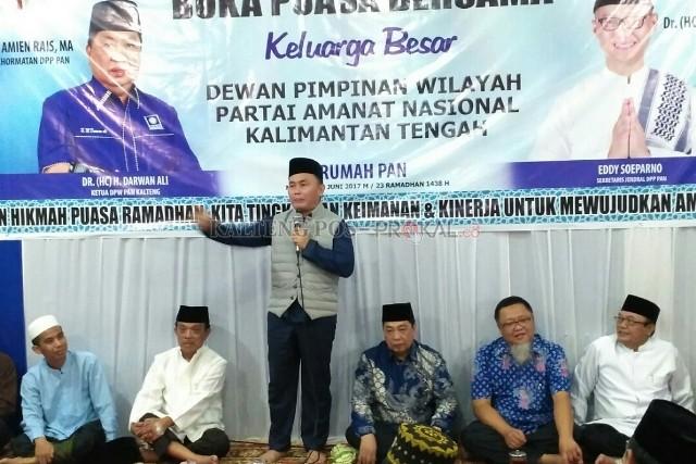 Gubernur Hadiri Buka Puasa DPW PAN Kalteng