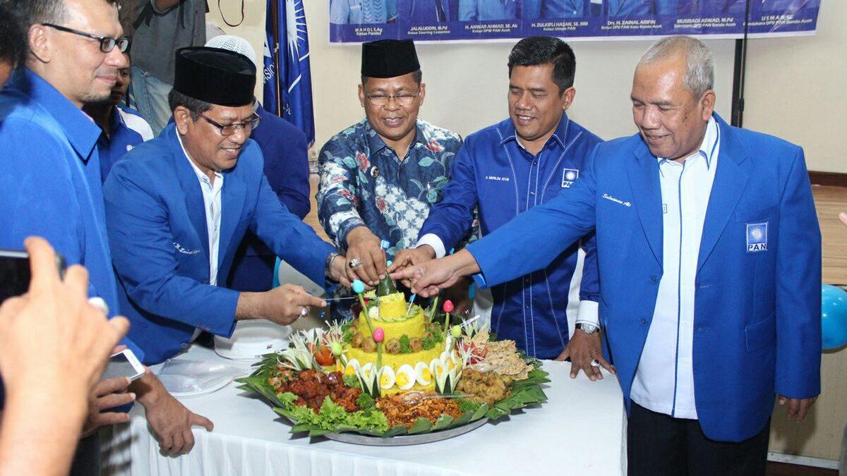 Selain Gelar Rakerda, PAN Juga Lantik Sembilan DPC di Banda Aceh