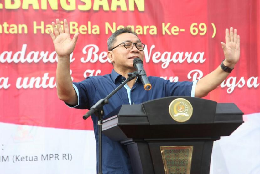 Pimpin Apel Bela Negara, Ketua MPR: Bangsa Maju karena Ilmu