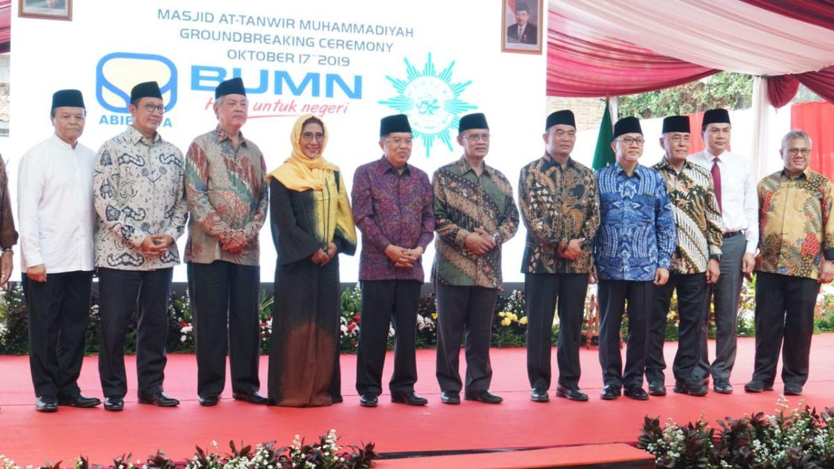 Ketum PAN Hadiri Peletakkan Batu Pertama Masjid At Tanwir PP Muhammadiyah