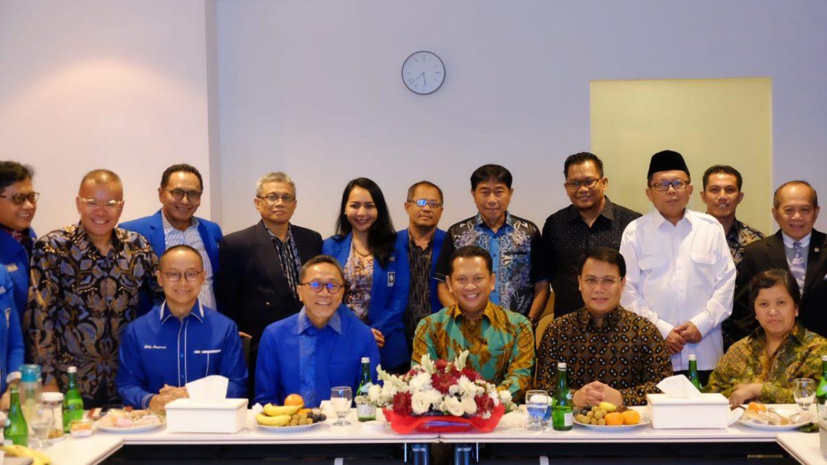 Silaturahim Kebangsaan Pimpinan MPR, PAN Jadi Tujuan Pertama