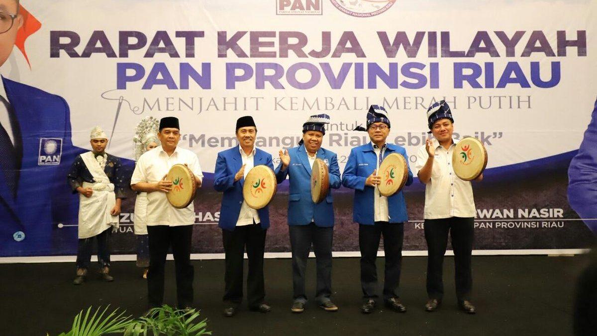 PAN Riau Optimis Rebut Kemenangan di 9 Daerah Pilkada 2020