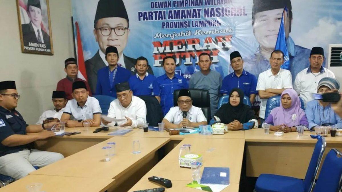 Jelang Pilkada Serentak, Kader PAN Lampung Siap All Out