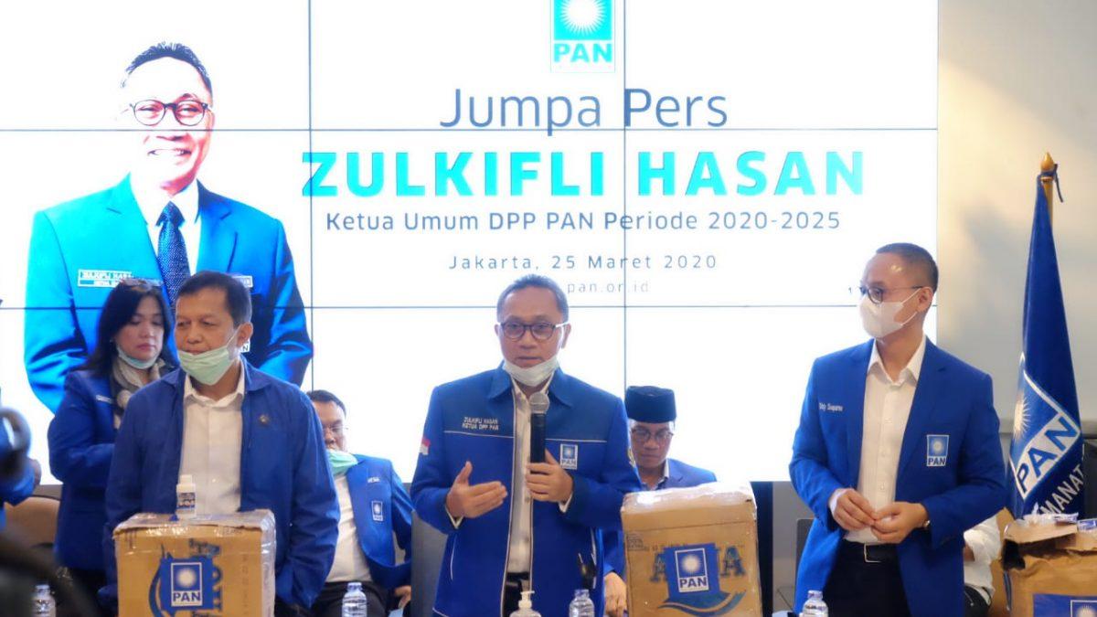 Zulkifli Hasan: Gaji Anggota DPR PAN Dipotong Untuk Bantu Korban Corona