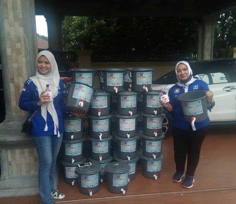 PAN Kota Binjai Bagikan 1.000 Masker dan Sabun Pencuci Tangan kepada Masyarakat