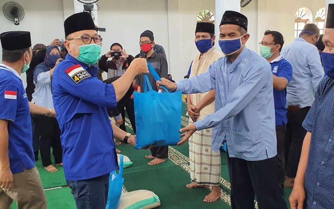 Ketum PAN Perintahkan Seluruh Kader Aktif Menyalurkan Bantuan untuk Masyarakat
