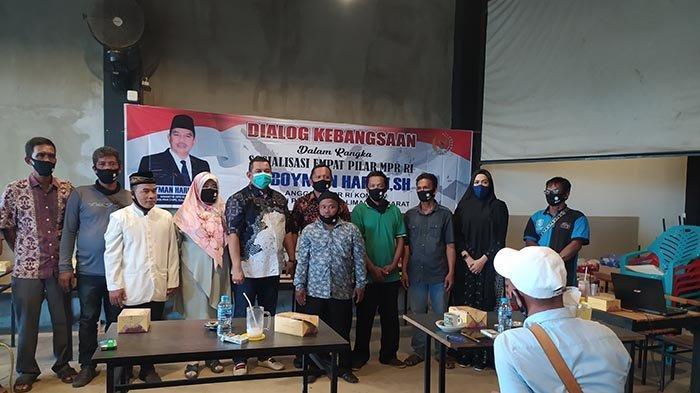 Sosialisasi Empat Pilar MPR RI, Boyman Harun: Pancasila Harga Mati