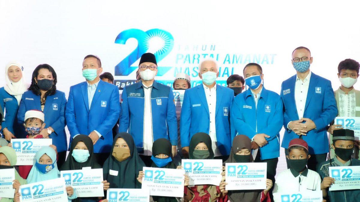 PAN Rayakan HUT ke-22, Zulhas: Tak Cukup Kritik, Bantu Pemerintah-Masyarakat
