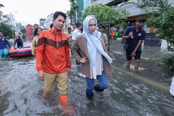 Jakarta Banjir Lagi, PAN DKI Minta Komitmen Pemprov Benahi Infrastuktur